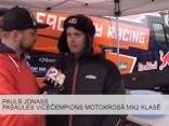 Aizputē noris Latvijas čempionāta 1.posms motokrosā