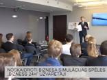 """Noskaidroti biznesa simulācijas """"Bizness 24"""" uzvarētāji"""