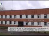 Limbažu un Salacgrīvas novadu sporta skolai fasādes renovācija