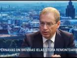 Rīgas vicemērs atbild uz jautājumiem parielu remontiemRīgas centrā