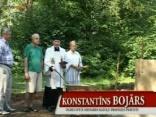 Ikšķilē iesvēta Sv.Meinarda statujas pamatus 2010.07.29