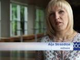 Aija Strazdiņa par Laura Reinika filmēšanās stāstiem