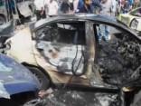 Sprādzienos divās pilsētās Sīrijā vismaz 140 bojāgājušie
