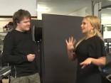 Toms Grēviņš sarunājas ar Lindu Leen par topošo jauno albumu (par ko albums)