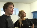 Toms Grēviņš sarunājas ar Lindu Leen par topošo jauno albumu (studija)