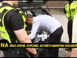 Rīgas centrā aizturēts, iespējams, narkotiku uzglabātājs