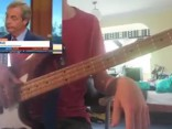 Naidžels Farāžs un bass