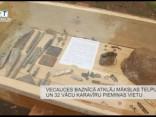 Vecauces baznīcā atklāj mākslas telpu un 32 vācu karavīru piemiņas vietu