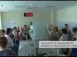 Daugavpils Univiersitāti apmeklē pedagogi no Cēsīm