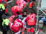 Kārtējajā Pamplonas vēršu skrējienā cietis skrējējs no Amerikas
