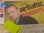 Fliks atdos zīmolu airBaltic