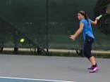 Video: Talantīgās tenisistes Ostapenko atklātais treniņš