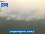 Krievijā jauni mežu ugunsgrēki