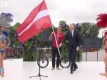 Latvijas karogu Riodežaneiro olimpisko spēļu atklāšanas ceremonijā nesīs Štrombergs