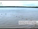 Daugavpils ūdenstilpnes papildina ar zivju resursiem