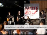 """Rokmūzikas festivāls """"Little Rock"""" ierībina Ludzu"""