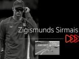 Video: Šķēpmetēja Zigismunda Sirmā olimpiskais treniņš
