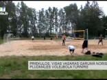 Priekuļos visas vasaras garumā noris pludmales volejbola turnīrs