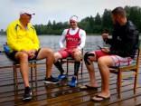 Video: kanoe airētāja Dagņa Iļjina olimpiskais treniņš