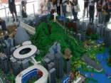 No 953 000 «Lego» detaļām izveidots milzīgs Rio makets