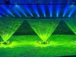 Ar krāšņu šovu tiek atklātas Rio olimpiskās spēles!