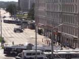 Aizdomīgas somas dēļ ierobežota satiksme pretī Centrālai stacijai