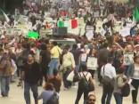 Tūkstošiem protestētāju Meksikā pieprasa prezidenta atkāpšanos