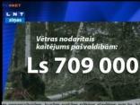 Zaudējumi vētrā jau pārsniedz 700 000 latus