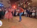Anna un Lauris: kāzu deja - rokenrols