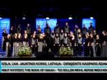1. Starptautiskā Baltijas jūras koru konkursa obligātā programma
