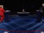 Asāka vārdu pārmaiņa debatēs starp Trampu un Klintoni