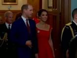 Karaliskais pāris žilbina svinīgajā pieņemšanā Kanādā
