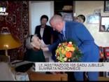 Lejasstrazdos sumināta 105 gadus jauna novadniece