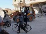 Uzlidojumi un bombardēšana Sīrijā