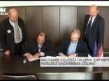 """Malnavas koledža un LPKS """"LATRAPS"""" noslēdz sadarbības līgumu"""