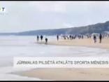 Jūrmalas pilsētā atklāts sporta mēnesis