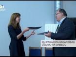 DU paraksta sadarbības līgumu ar UNESCO