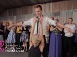 Pirmā deja: Sigita un Kaspars