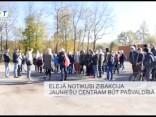 Elejā notikusi zibakcija - jauniešu centram būt pašvaldībā