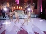 Noskaties: Bejonses cienīga kāzu pārsteiguma deja