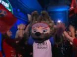 Vilks «Zabivaka» uzvar Pasaules kausa talismanu konkursā