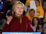 Hilarija Klintone: Tramps apdraud Amerikas demokrātiju
