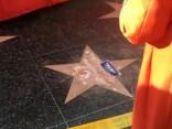 ASV Holivudā, Slavas alejā, sabojāta Trampa zvaigzne