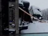 Uz Daugavpils šosejas avārija; virzienā uz Rīgu sastrēgums