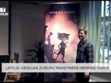 Latvijā viesojas zviedru rakstnieks Henriks Tamms