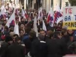 Grieķijā notiek ģenerālstreiks pret budžeta tēriņu samazināšanu