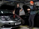 Kā droši piedarbināt auto ar vadiem