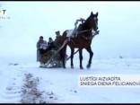Lustīgi aizvadīta sniega diena Felicianovā