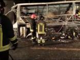 Autobusa avārijā Itālijā 16 bojāgājušie