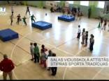 Salas vidusskolā attīstās stipras sporta tradīcijas